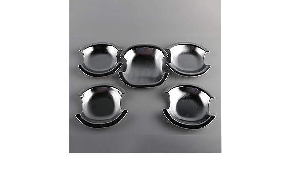 x4 Door Handle Cup Bowl Bezel Interior Decor Trim Chrom Fit TOYOTA RAV4 06-12