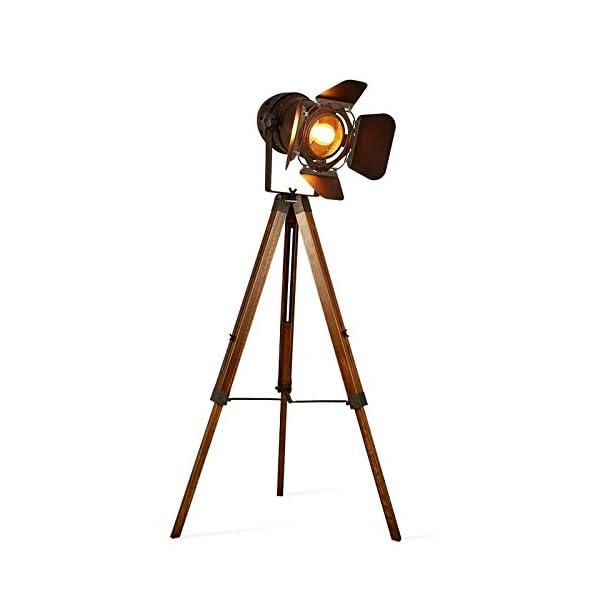 Decoluce Vintage Tripod Floor Lamp 3