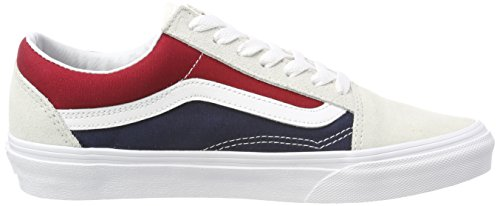 Vans Old Skool, Scarpe Running Unisex-Adulto Multicolore (Retro Block)
