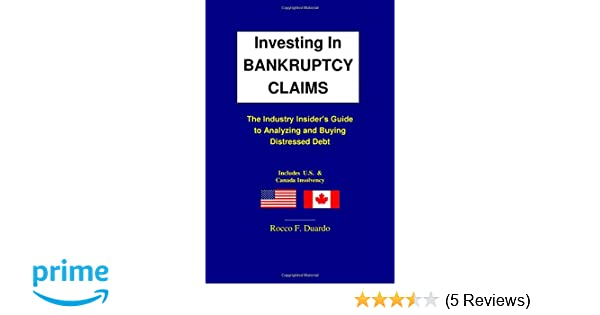 Distressed debt prez   private equity   bankruptcy.