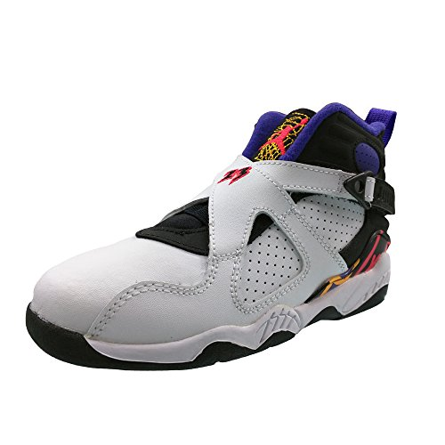 Jordan Nike 8 Retro BP White/Black/Red 305369-142 (Size: 1Y)
