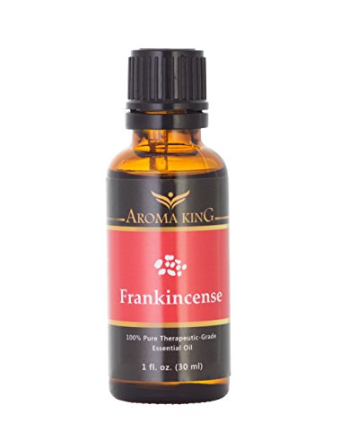 Frankincense Oil 100% Pure, Therapeutic Grade Essential Oil by Aroma King - Aromatherapy (1 Oz) by Aroma King