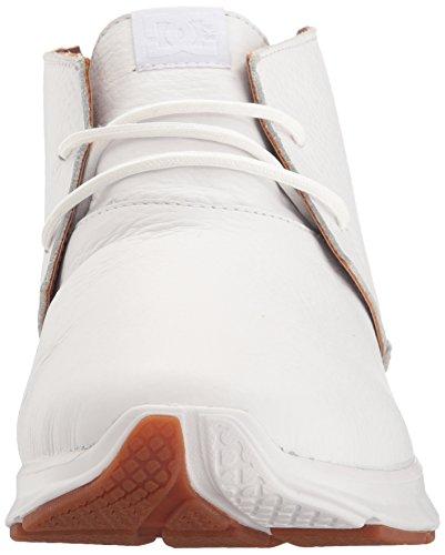 Dc Mænd Kvadre Le Skate-sko Hvid VW5j6Y1aC