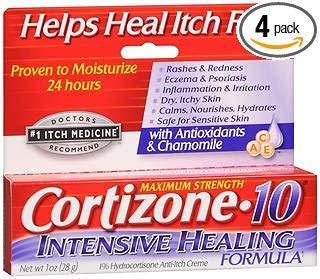 (Cortizone-10 Intensive Healing Formula Anti-Itch Creme - 1 oz, Pack of)