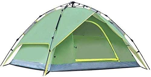 キャンプ用の縄跳びドームドームキャノピー自動防水油圧テント3〜4人用キャノピーセットアップが簡単で、キャンプ用パッケージハイキングハイキングトラベルクライミング
