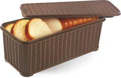 Radost ® Plastic Bread and Butter Box (Big Size Multicolour)