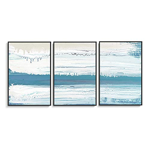 (NWT Framed Canvas Wall Art for Living Room, Bedroom Abstract Ink Oil Painting Canvas Prints for Home Decoration Ready to Hanging - 24