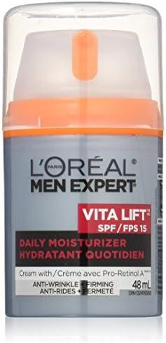 Loreal Paris Men Expert Vita Lift SPF 15, Firming & Anti-Wrinkle Cream Moisturizer, 48 ML