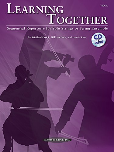 UPC 038081384283, Learning Together: Sequential Repertoire for Solo Strings or String Ensemble (Viola), Book & CD