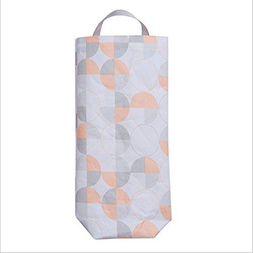 Amazon.com: AKINLY Plastic Bag Garbage Bag Holder Waterproof Wall Mount Grocery Bag Dispenser Garbage Bag Organizer for Home Office Kitchen, Set of 2 (color ...