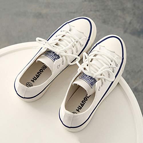 Wind Talons Femmes étudiants Hauts Noires Blanc SHI Lacets Chaussures à College Sport Plates à décontractées Chaussures Chaussures Chaussures OgwqAtax
