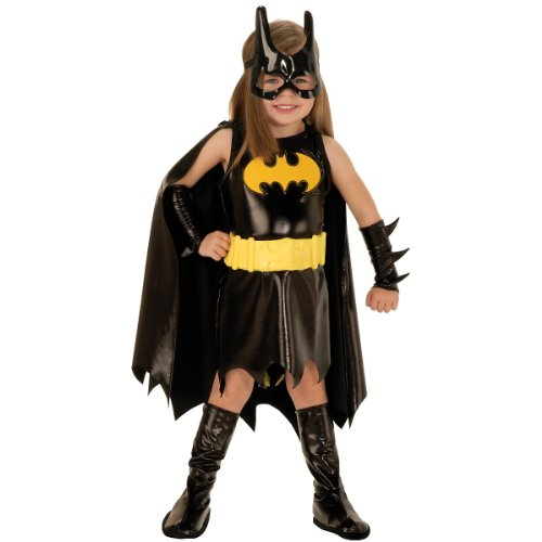 Batgirl Costume - Toddler (USA size (Officially Licensed Batgirl Costumes)