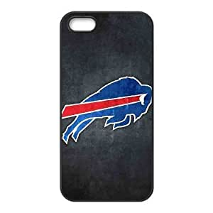 iPhone 5 5s Black Cell Phone Case Buffalo Bills NFL Phone Case Cover Durable Unique NLYSJHA2497