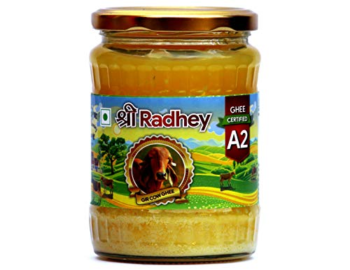 Shree Radhey Certified A2 Gir Cow Ghee - Clarified Butter - 100 % Grass Fed- (Traditionaly Churned) 14 oz (400 gm)) by Shree Radhey (Image #6)