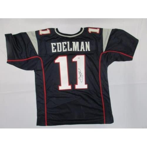 4cabf422f Julian Edelman Signed Jersey Auto Dna Y55598 - PSA/DNA Certified -  Autographed NFL Jerseys