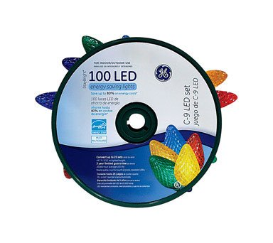 100 Led C9 Lights in US - 7