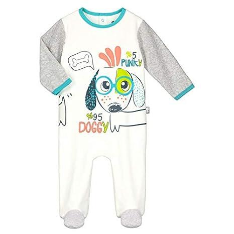 bdf4a880f2de4 Pyjama bébé velours Doggypunky - Taille - 12 mois (80 cm)  Amazon.fr ...