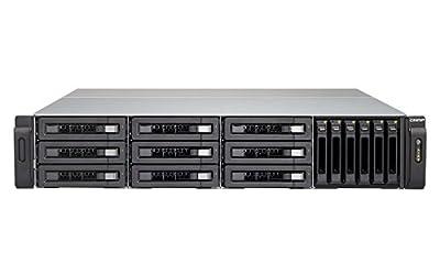 QNAP | TVS-1582TU-i7-32G-US | Ultra-High Speed 2U 15 bay (9+6) Thunderbolt 3 NAS/iSCSI IP-SAN. Intel 7th Gen Kaby Lake Core i7 3.6GHz Quad Core, 32GB RAM, Thunderbolt3 port x 4 and 10G (SFP+) x 2