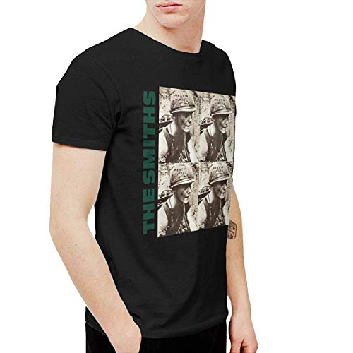Valanza The Smiths Meat is Murder Men's Tshirt Black,Black,Small (Meat Is Murder Smiths The T Shirt)