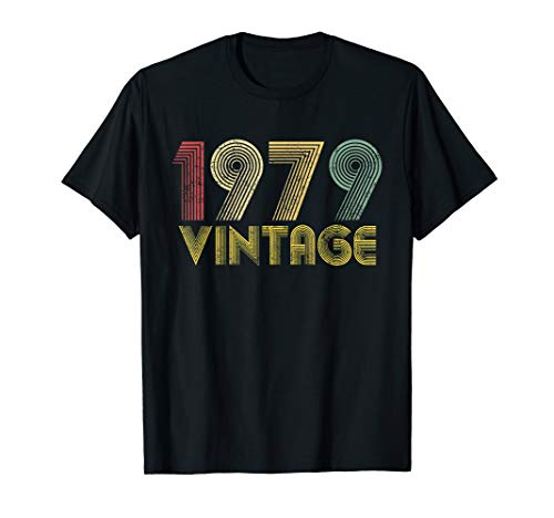 Vintage 1979 40th birthday gift 40 Years old Funny T-Shirt 40 Years Old T-shirt