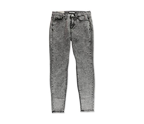 Junior's Mudd High-Waisted Acid Wash Jeggings Color Black Acid (9)