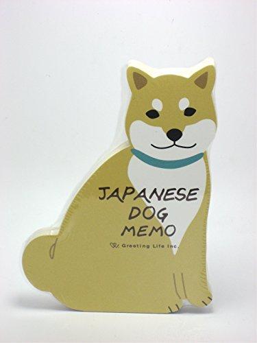 1 Die Cut Memo Pad - Japanese Shiba-inu Dog Die-cut Memo Pad 3.5