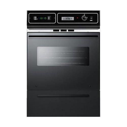 Summit TTM7212DK Kitchen Cooking Range, Black