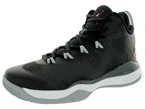 Nike air Jordan Super.Fly 3 BG hi top Basketball Trainers 684936 Sneakers Shoes Black Gym Red Dark Grey Wolf Grey 005