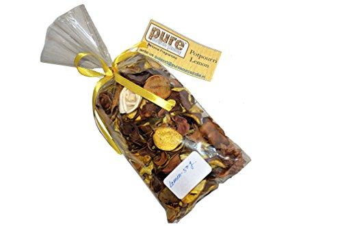 Pure Source India. Highly Fragranced Potpourri Bag 50 Gram Pack (Lemon)