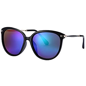 Women's Sunglasses UV Protection Polarized eye glasses Goggles UV400 (Green, As pictures)
