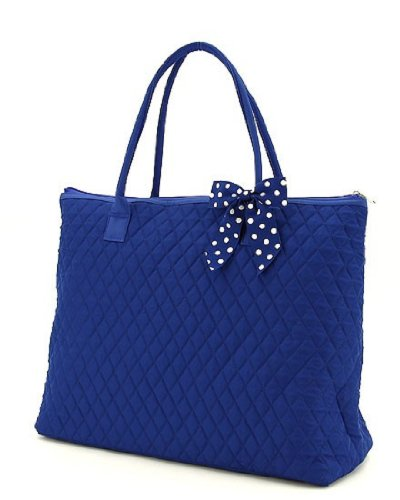 Quilted Two Pocket Tote - 9
