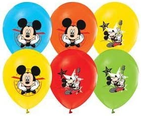 Amazon.com: Mickey Mouse Globos 12.0 in Pixar Látex Party ...