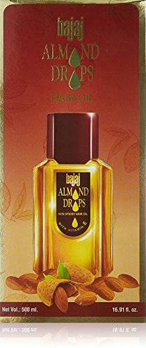 Bajaj Almond Drops Hair Oil -500ml(16.91 Floz.) by Bajaj
