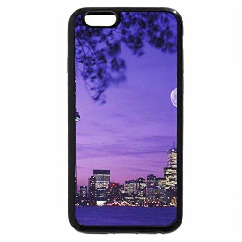iPhone 6S / iPhone 6 Case (Black) skyline,toronto, canada