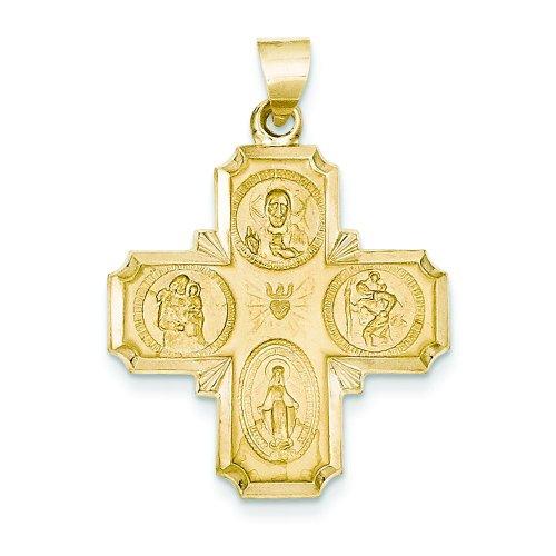 Medal Charm Cruciform Cross Jewelry
