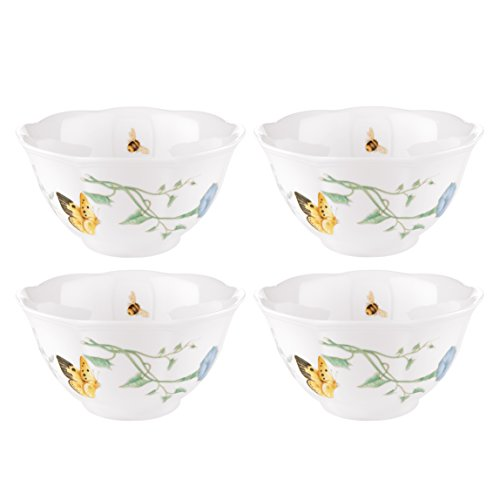 Lenox Butterfly Meadow Rice Bowls, Set of 4 (Collection Rice)