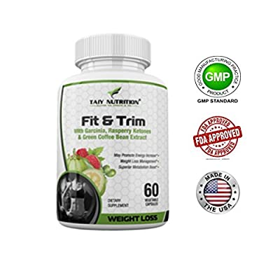 The Big 3 [ Garcinia Cambogia Raspberry Ketones Green Coffee Bean Extract ] Superior Weight Loss Appetite Suppressant Fat Burner Energy and Metabolism Booster