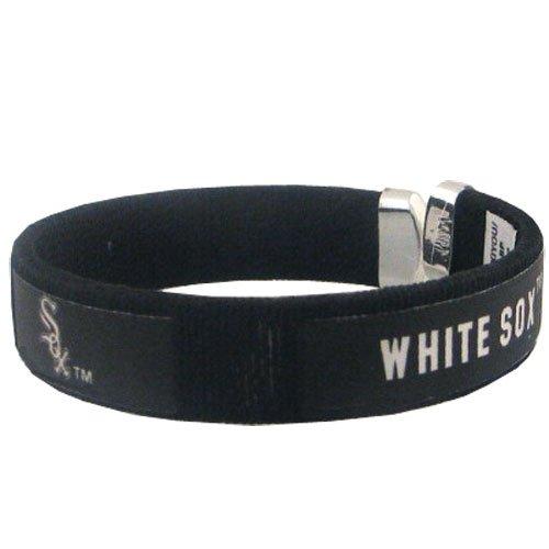 Chicago White Sox Bracelets - Siskiyou Gift Chicago White Sox Fan Band Bracelet