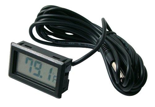 (Beulerⓡ brand Digital temperature meter with remote temp sensor)