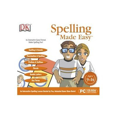 DK LDSPEEASYJ Spelling Made Easy