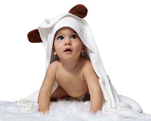 Baby Absorbent Back Towel (Bear) - 5