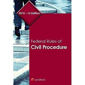 Federal Rules of Civil Procedure (2015 - 2016) (Paperback)