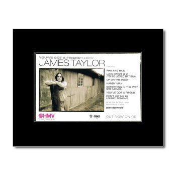 JAMES TAYLOR - You've Got a Friend Mini Poster - 21x13.5cm
