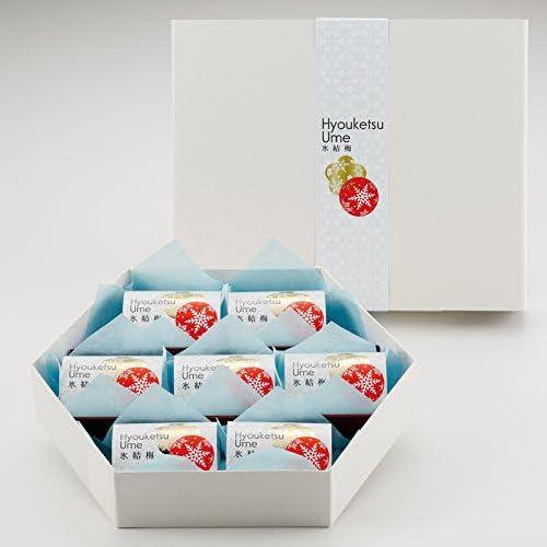 氷結梅〔25g×7粒入〕 梅干専門店河本食品の人気商品 紀州南高梅のおやつデザート 個包装