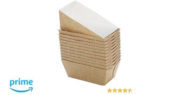 Bakery direct 100 Mini tarjeta de molde BAKE-IN moldes de papel desechables FREEPOST: Amazon.es: Hogar