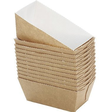 Bakery Direct 100 Mini LOAF Card Bake-in Disposable Paper Moulds FREEPOST Bakeydirect