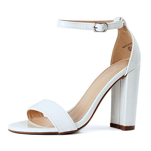 Guilty Heart | Shirley-7 White Patent, 5.5