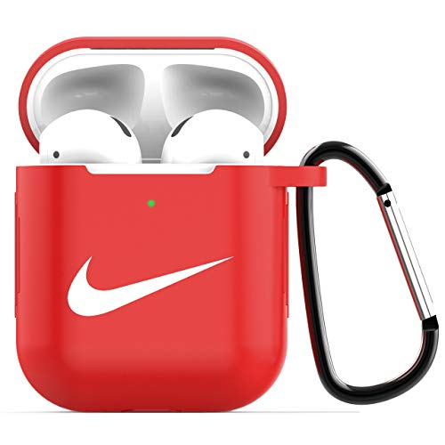 Airpods Case Protective Silicone Cover and AirPods Accessories Case Skin Compatible with Apple AirPods 2 and 1