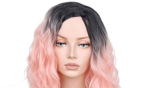 Cheap Wigs Vancouver (Synthetic Ombre Wigs Short Hair for Women's 14