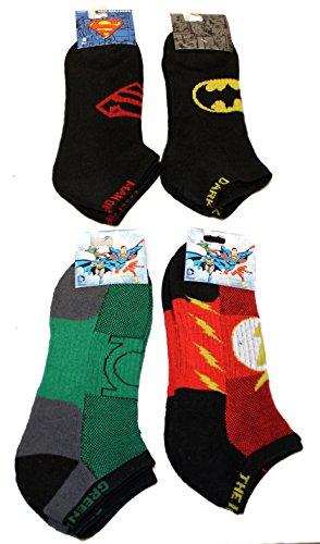 dc-comics-mens-performance-ankle-socks-4-pair-10-13